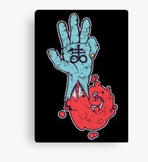 Hand Of The Dead Canvas Print