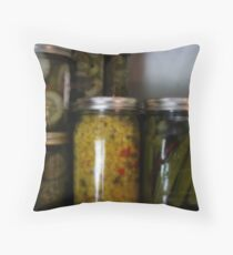 Grandma's Cupboard..... Throw Pillow