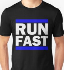 Laugh Hard, Run Fast, Be Kind Unisex T-Shirt