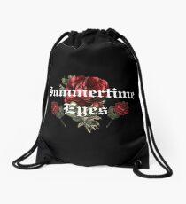 Summertime Eyes Drawstring Bag