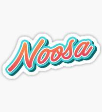 Noosa AU Typography Sticker