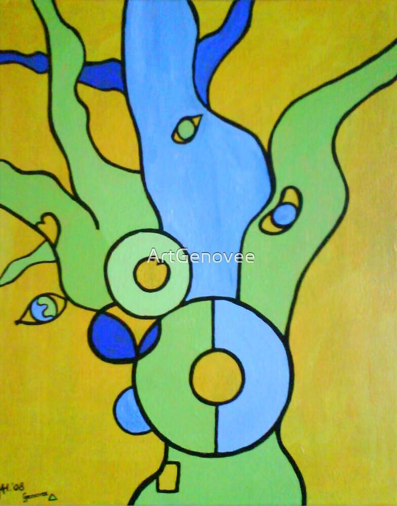 Life Coach Tree (c) by Genovee by ArtGenovee