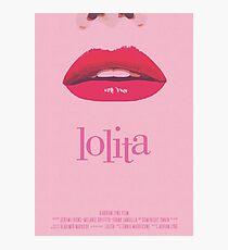 Lolita, Vladimir Nabokov, poster minimalista, poster alternativo,Jeremy Irons, Dominique Swain, impresión y láminas Lámina fotográfica