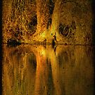 River Thames Reflection by Catherine Hadler