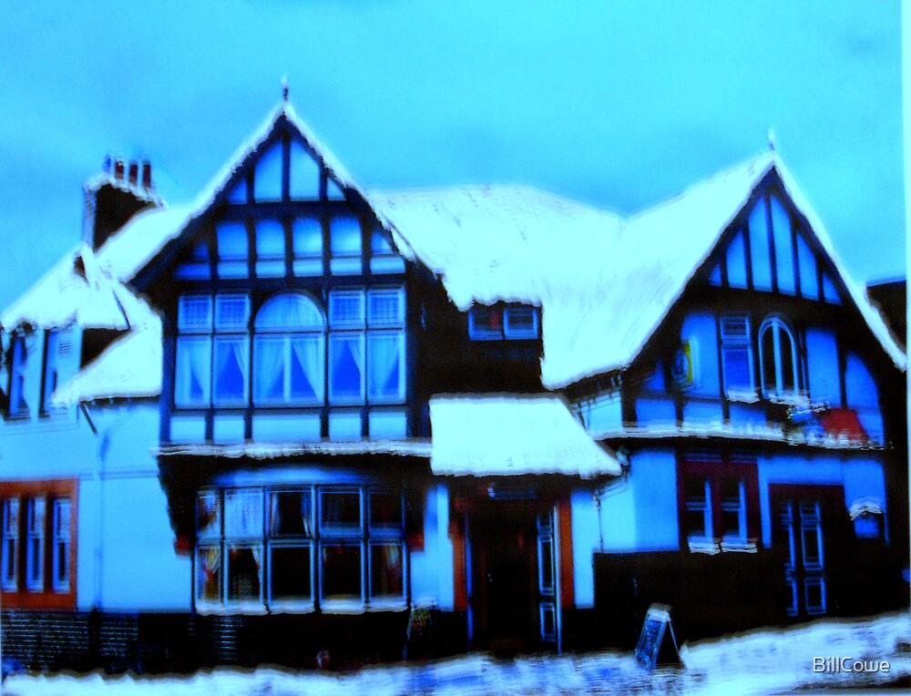 The Bridge Inn, Peebles (digitally enhanced photograph) by BillCowe