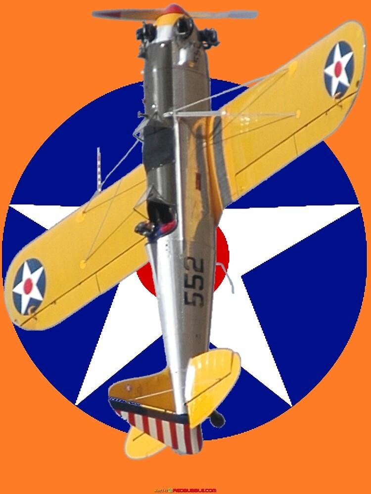 Pre WW2 USAAF Roundel Ryan PT-22 VH-RPT Design by muz2142