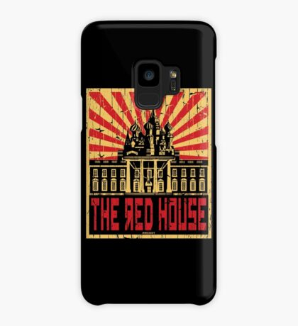 Vintage The Red House Case/Skin for Samsung Galaxy