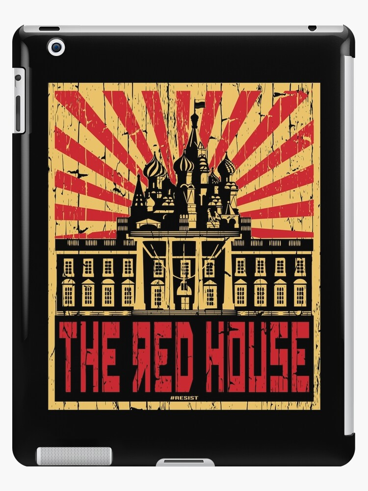 Vintage The Red House by EthosWear