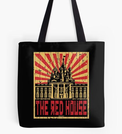 Vintage The Red House Tote Bag
