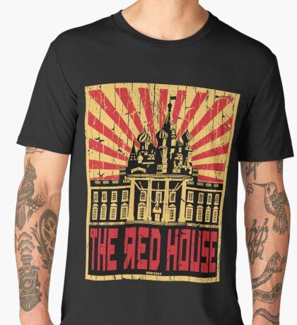 Vintage The Red House Men's Premium T-Shirt