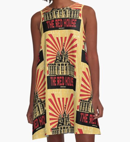 Vintage The Red House A-Line Dress
