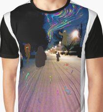 Snow Road Graphic T-Shirt