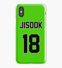 Rainbow Jisook Jersey iPhone Case/Skin