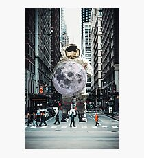 To The Moon And BACK Photographic Print