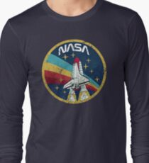 Nasa Vintage Colors V01 Long Sleeve T-Shirt