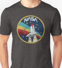 Nasa Vintage Colors V01 Unisex T-Shirt
