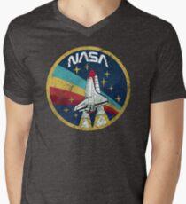 Nasa Vintage Colors V01 Men's V-Neck T-Shirt