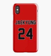 Rainbow Jaekyung Jersey iPhone Case/Skin