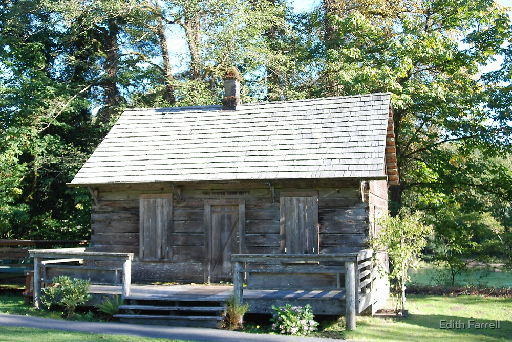 Tom Porter Cabin by Edith Farrell