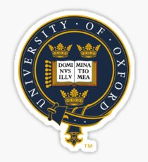 Oxford University Emblem Sticker