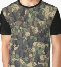 Panda campuflage Graphic T-Shirt