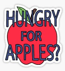 Rick and Morty Hungry for Apples Sticker