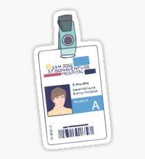 Shaun Murphy ID Badge / The Good Doctor Sticker