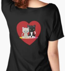 Leo and Lyla valentine's day Women's Relaxed Fit T-Shirt