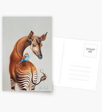 Okapi by Maria Tiqwah Postcards