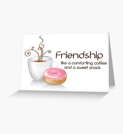 Friendship Card Greeting Card