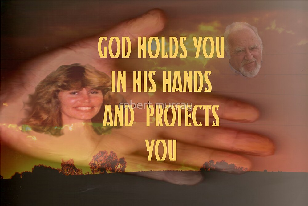 God holds you in his hands by robert murray