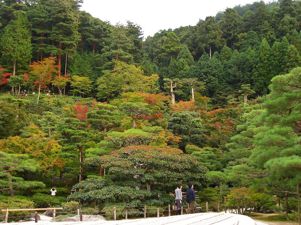 Japanese gardens, Tokyo by mypics4u