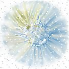 Frosted Daisy, Dotted Swiss by Alma Lee
