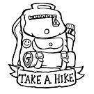 Take a Hike - Backpack by bangart