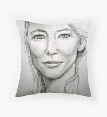 Cate Blanchett Throw Pillow