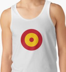 Roundel of the Spanish Air Force Men's Tank Top