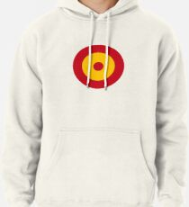 Roundel of the Spanish Air Force Pullover Hoodie