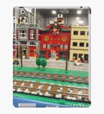 Lego Trains, Lego Buildings, Greenberg's Train and Toy Show, Edison, New Jersey  iPad Case/Skin