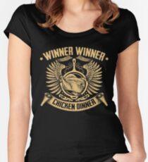 Winner Winner Chicken DINNER! Women's Fitted Scoop T-Shirt
