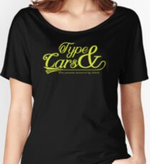 Type And Cars IK969 Trending Women's Relaxed Fit T-Shirt