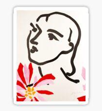 Henri Matisse  Sticker