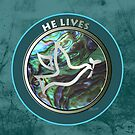 He Lives - Dove by Patricia Howitt