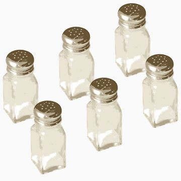Salt Shakers by truthimprint