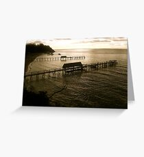 jetties Greeting Card