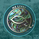 He Lives - Fish by Patricia Howitt