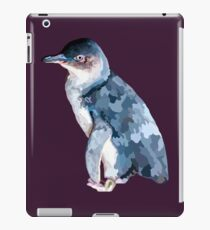 Geometric Art Fairy penguin- low poly iPad Case/Skin