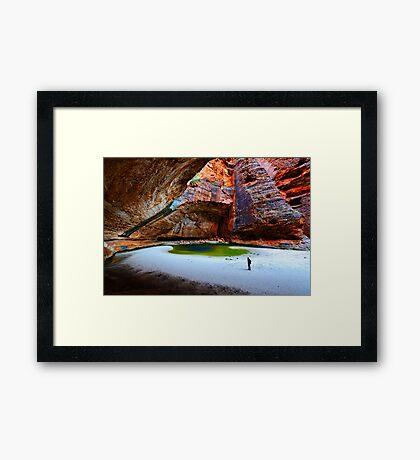 Cathedral Gorge Framed Print