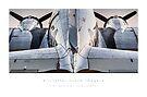 "C-47 Skytrain  ""Texas Zephyr"" by Kristoffer Glenn Pfalmer"