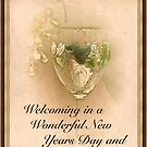 Welcoming  in The New Year by Sherry Hallemeier
