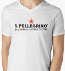 San Pellegrino Red Star Shirt Men's V-Neck T-Shirt